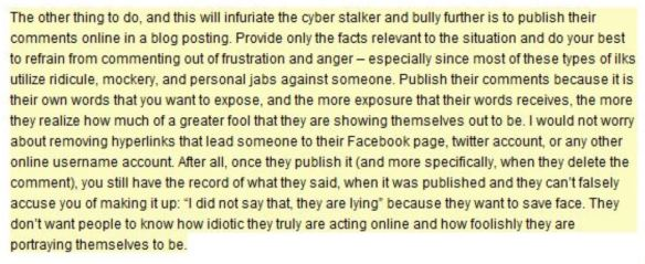 Berman on Cyber Stalking 1