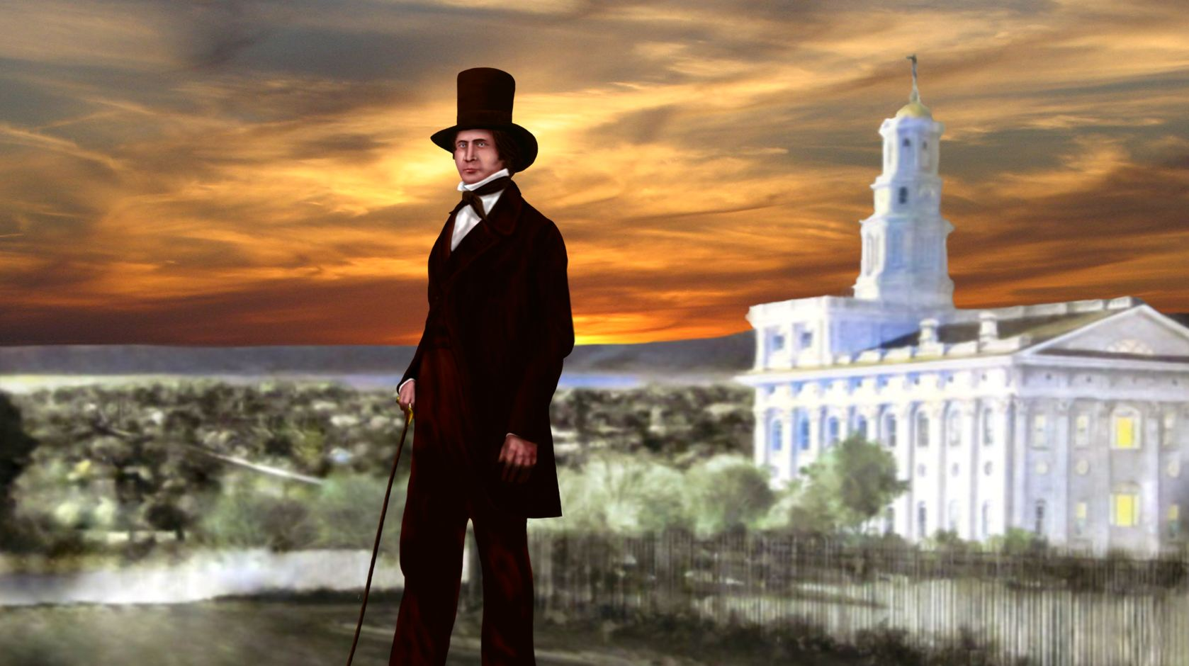 Brigham Young Nauvoo Temple 1845
