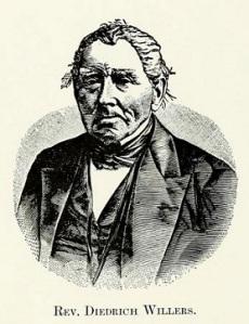 Rev Diedrich Willers