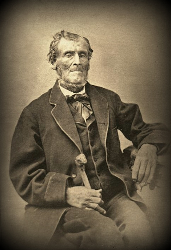 Martin Harris circa 1875