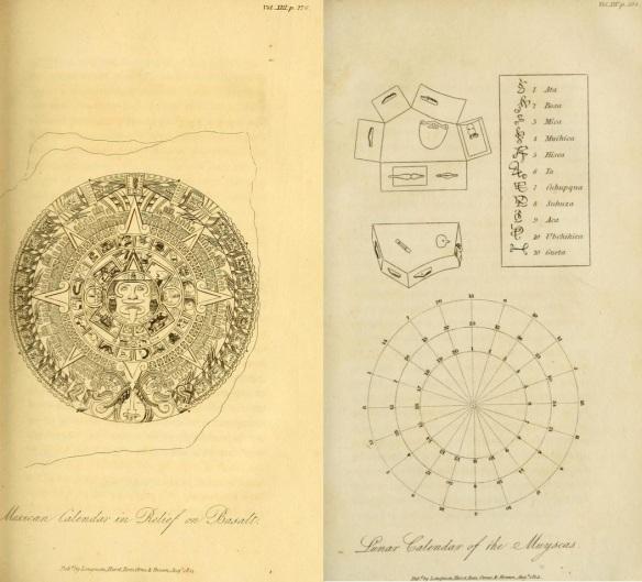 Humboldt's Mexican & Musica Calanders pp. 104, 276.