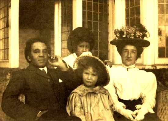 A 19th Century interracial family
