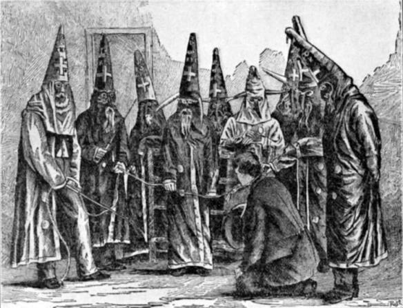 Ku Klux Klan circa 1870