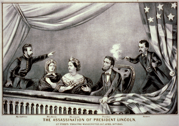 Assassination of Lincoln, Currier & Ives