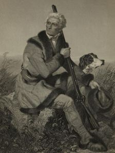 Daniel Boone from Duyckinck's National Portrait Gallery of Eminent Americans