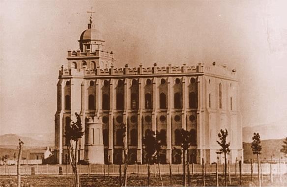 St. George Temple c. 1880