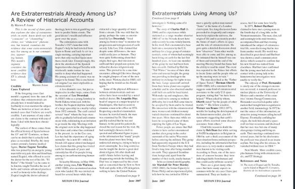 Aston Mufon Article