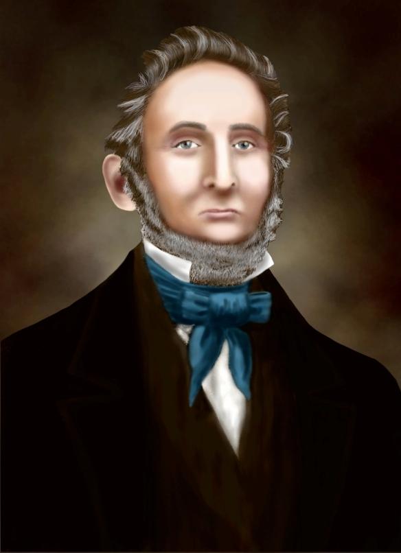 Sidney Rigdon, 1844