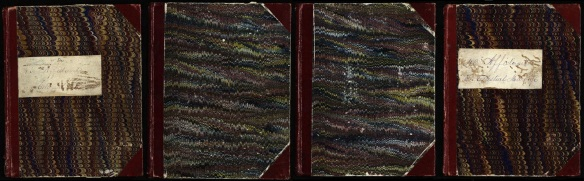 1869 Utah Affidavit Book Covers