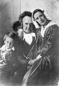 Willard & Jennetta Richards with son Heber John