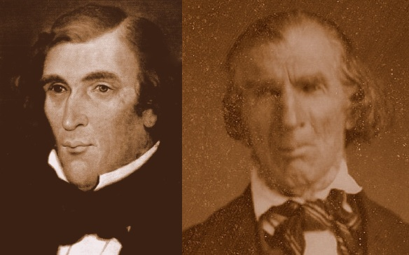 John Smith (Painting) c. 1835, and (Photo) c. 1855