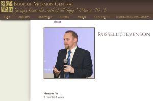 Mormon Apologist Russell Stevenson