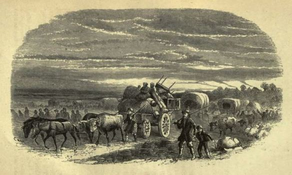 Leaving Missouri, T.B.H. Stenhouse, The Rocky Mountain Saints